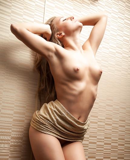 Blonde Babe Nessy