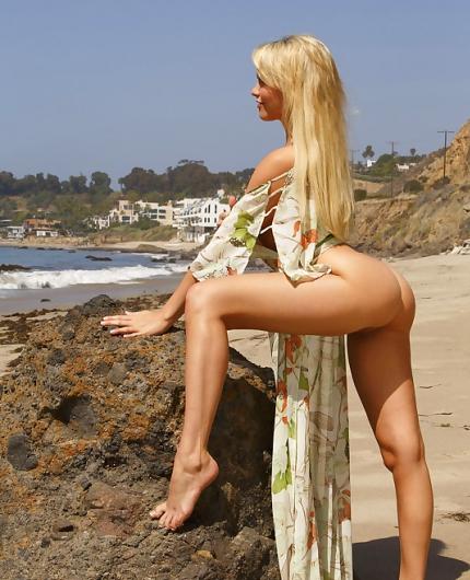 Mia Malkova Beach Girl