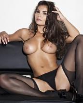 Anna Andelise in black