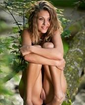 Elena on a tree