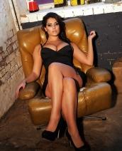 Charlotte Springer Tight Black Dress