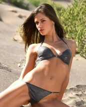 Little Caprice on the sand
